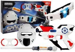 Kosmiczny Miecz Świetlny Kajdanki Maska Pistolet