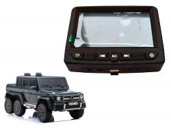 Panel LCD MP4 do Auta na akumulator Mercedes G63 SX1888