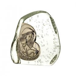 Skałka kryształowa Matka Boska z dzieciątkiem 3951