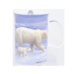 """Ashdene Kubek porcelanowy 15731 """"niedźwiedź polarny"""""""