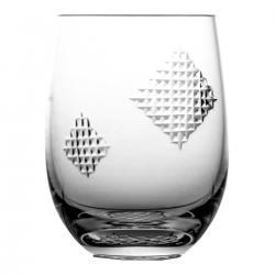 Szklanka do soku drinków kryształowa łatki 08480