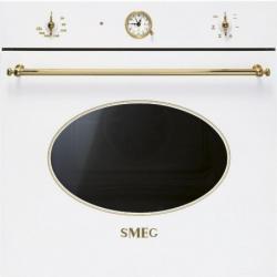 Smeg SF800B Biały (złote pokrętła) - dostawa GRATIS