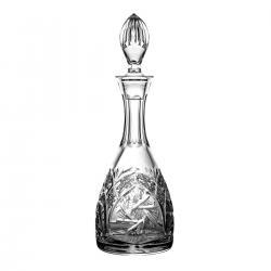 Karafka do wina kryształowa bogaty szlif 02682