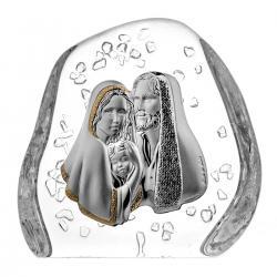 Skałka kryształowa Święta Rodzina (05540)