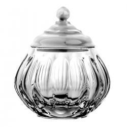Kryształowa cukiernica z kolekcji Blanca (09105)
