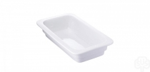 GastroSUS Cellana pojemnik porcelanowy GN 1/4 26,5 x 16,2 x 6,5 cm około 1,20 l 167120-14-65