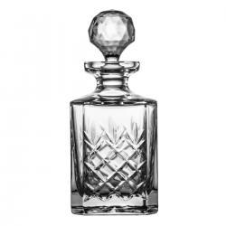 Karafka do whisky brandy kryształowa 9894