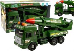 Wóz Bojowy Ciężarówka Wojskowa Efekty Dźwiękowe i Świetlne