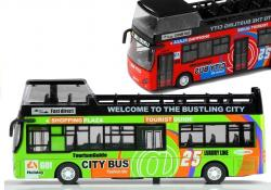 Autobus Piętrowy Turystyczny Otwierane Drzwi