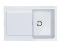 MRK 611-78 3 1/2 ZOdp ZSyf białypolarny  Zlewozmywak ceramiczny Maris Biały Polarny