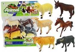 Zestaw Figurek Zwierzęta Domowe Gumowe 6szt