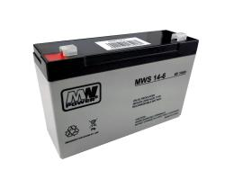 Akumulator Żelowy Bezobsługowy 6V14Ah