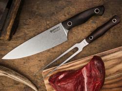 Widelec do mięsa Boker Solingen Saga Grenadill