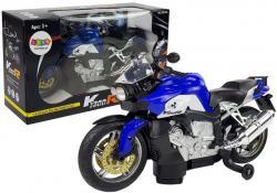 Motocykl na Baterie Niebieski
