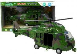 Helikopter wojskowy efekty dźwiękowe i świetlne