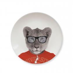 Talerz ceramiczny obiad. Baby LION mały