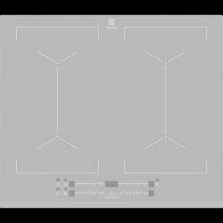 Electrolux EIV64440BS - TOWAR W MAGAZYNIE -  płyta indukcyjna SLIM-FIT z funkcją Multiple Bridge,Direct Touch i opcją PowerBoost, kolor srebrny