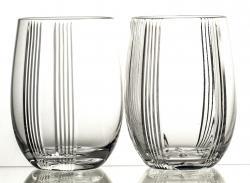 Szklanki kryształowe do whisky napojów 2 sztuki (10519)