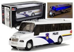 Model Autobusu Bus Świeci Biały