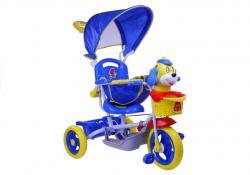 Rower Trójkołowy Piesek Niebieski Dla Dzieci Rowerek