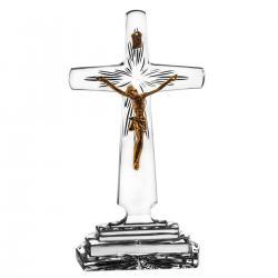Krzyż kryształowy z korpusem Chrystusa 1418