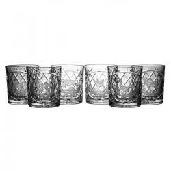 Szklanki grawerowane myśliwskie do whisky 6 sztuk (05441)
