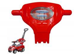 Oparcie do jeździka Coupe Megacar czerwone
