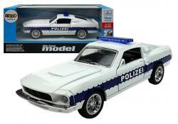 Autko Służb Policja 1:32 Białe