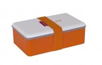 Lunch box Color prostokątny głęboki pomarańczowy 1,1l