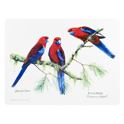 """Ashdene Mata na stół 10332 """"ptaki Australii - rosella"""""""