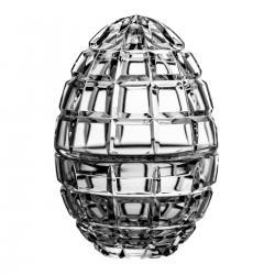 Bomboniera box jajko kryształowa 8567