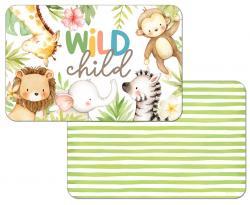"""Cala Home Podkładki na stół dwustronne C174-00074 """"wild child"""""""