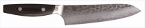 YAXELL YO-U 37 Damascus Hammered VG10 Small santoku 145mm