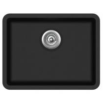 Aquasanita ARCA SQA102-601AW Czarny metalik z korkiem automatycznym