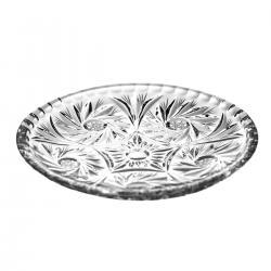 Talerzyki deserowe 6 sztuk kryształ 0945
