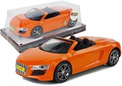 Autko z Naciągiem Kabriolet Pomarańczowe 1:18