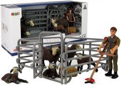Zestaw Figurek Zwierzęta Domowe na Farmie Baran Owieczka