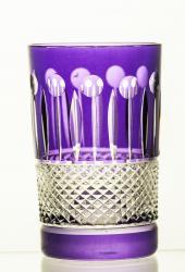 Szklanki kolorowe kryształowe do kawy herbaty 6 sztuk 2649
