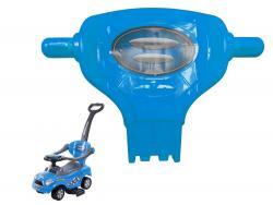 Oparcie do jeździka Coupe Megacar niebieskie