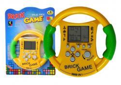 Gra Elektroniczna Bricks Tetris Kierownica Żółta