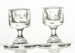 Świeczniki kryształowe 2 sztuki (13513)