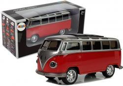 Autobus Resorak z napędem i dźwiękiem Czerwony