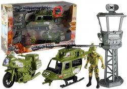 Zestaw Militarny Helikopter Wojskowy Motor Wieża