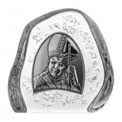 Przycisk kryształowy Jan Paweł II (04196)