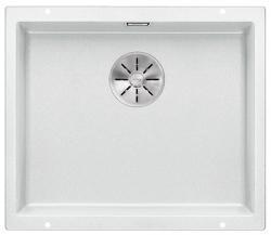 BLANCO SUBLINE 500-U biały bez korka aut. z korkiem InFino
