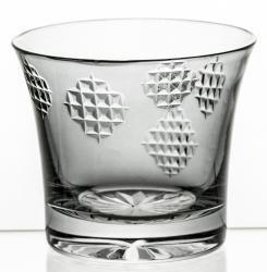Szklanka kryształowa kolorowa do napojów łatki (10532)