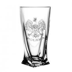 Szklanki grawerowane long drink orzeł 5217