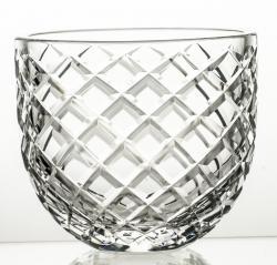 Wazon ze szkła kryształowego przeźroczysty Caro