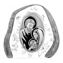 Przycisk skałka kryształ Święta Rodzina 4499