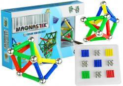 Zestaw Magnastix Klocki Magnetyczne Kolorowe 60